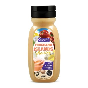 Sauce Thousand Islands Dressing ZERO CALORIES (Sos Tysiąca Wysp ZERO KALORII) 320ml OSTROVIT