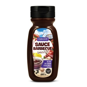 Sauce Barbecue Smooth ZERO CALORIES (Sos Barbecue ZERO KALORII) 320ml OSTROVIT