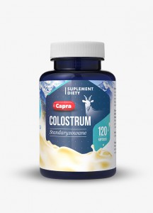 Capra Colostrum kozie 120kaps. HEPATICA