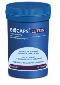 BICAPS® LUTEIN (Luteina) 60kaps. FORMEDS