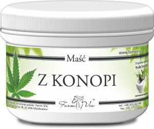 Maść z konopi 150ml FARMVIX