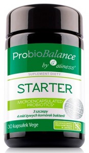 ProbioBALANCE, STARTER 4 mld. x 30 vege kaps. by Aliness®