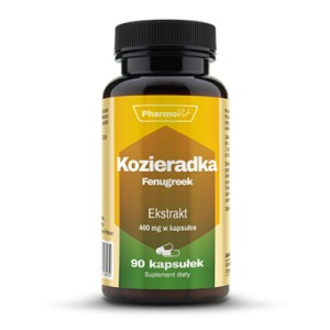Kozieradka (Fenugreek) 4:1 400mg 90kaps. PHARMOVIT