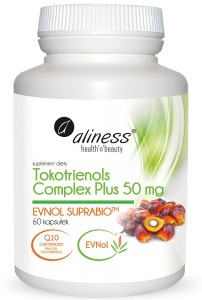 Tokotrienols (Wit. E) Complex Plus 50mg 60kaps ALINESS