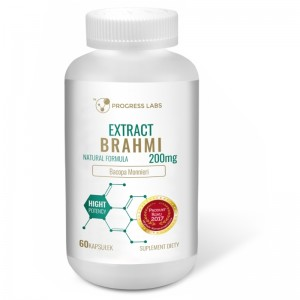 Brahmi Bacopa Monnieri Ekstrakt 200mg 60 kaps. PROGRESS LABS