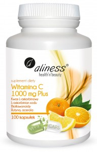 Witamina C 1000mg Plus 100kaps. VEGE ALINESS