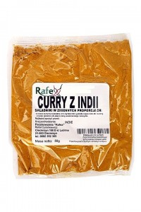 Curry z Indii 50g RAFEX