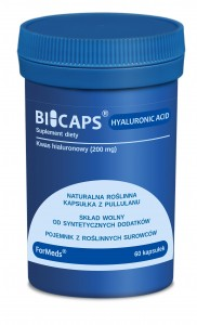 BICAPS® HYALURONIC ACID Kwas hialuronowy 60kaps. FORMEDS