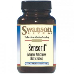 Sensoril Anti-Stress Nutraceutical Ashwagandha 120kaps SWANSON