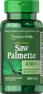 Saw Palmetto 450mg 100kaps. PURITAN'S PRIDE