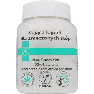 Ałun do kąpieli stóp 500g BIOMIKA