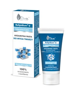 Aksamitna pasta do mycia twarzy 50ml AVA RELIPIDIUM+INTENSIVE CARE