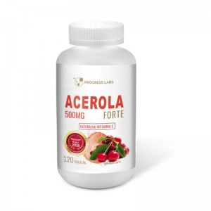 Acerola Forte 500mg 120 tabl. PROGRESS LABS