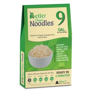 Makaron konjac Noodle bezglutenowy 385g BETTER THAN FOODS